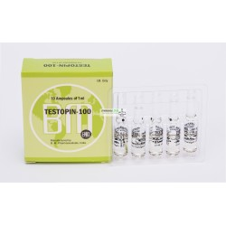 Testopin 100 BM Pharmaceuticals (Testoterone propionaat) 12ML (6X2ML Vial)