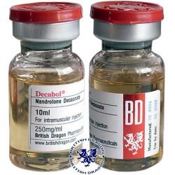 Decabol 250 britiske Dragon 10ml flaske [250mg / 1ml]