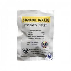 Stanabol tabletter brittiska Dragon 100 tabs [10mg/tab]