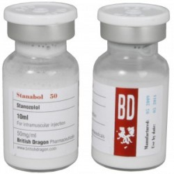 Stanabol 50 brittiska Dragon 10ml flaska [50mg / 1ml]