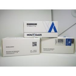 Oxandrolon [Oxandrolon] Nouveaux 100 tabletten [10 mg / tabblad]