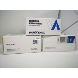 Clenbuterol Nouveaux LTD 100 tabletter på 0,04 mg