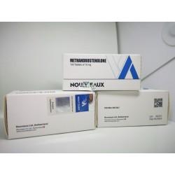 Methandrostenolone (Dianabol) Nouveaux LTD 100 tabletta 10 mg-os