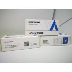 Oxymetholone [Anadrol] Nouveaux LTD 50 comprimés de 50 mg