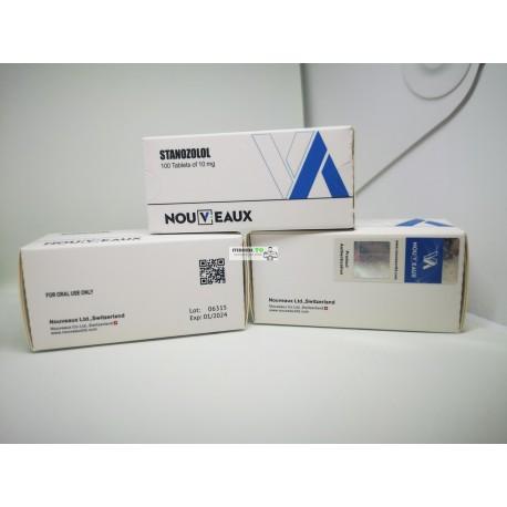 Stanozolol (Winstrol) Nouveaux LTD 100 tablets of 10mg