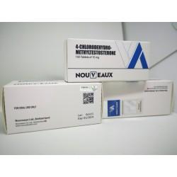 Turinabol Nouveaux LTD 100 tabletter på 10 mg