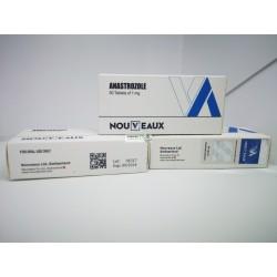 Anastrazole [Arimidex] Nouveaux 50 tabletter på 1 mg