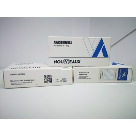 Anastrazole [Arimidex] Nouveaux 50 tabletter om 1 mg