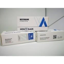 Mesterolone [Proviron] Nouveaux Ltd 50 tabletter på 25 mg