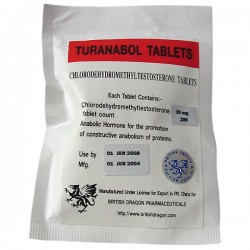 Turanabol tabletter British Dragon 200 faner [10mg/fane]