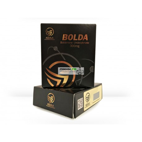 BOLDA (Boldenone undecylenate) Aquila Pharmaceuticals 10X1ML ampoule [300mg/ml]