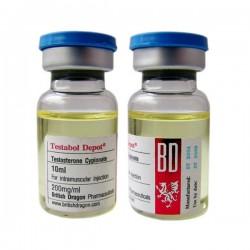 Testabol Depot britiske Dragon 10ml flaske [200mg / 1ml]