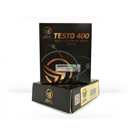 TEST 400 (blandade testosteronestrar) Aquila Pharmaceuticals 10X1ML ampull [400 mg / ml]