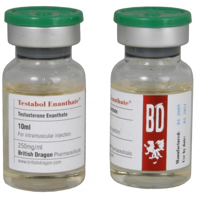Buy Testabol Enanthate British Dragon 10ml vial [250mg/1ml]