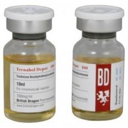 Trenabol Depot 100 britiske Dragon 10ml flaske [100mg / 1ml]