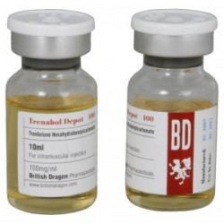Trenabol Depot 100 British Dragon 10ml vial [100mg/1ml]