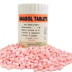 Guias de Anabol comprimidos britânico dispensário 1000 [5mg/Guia]