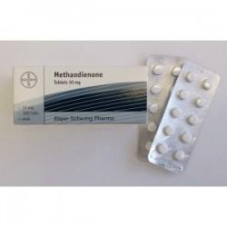 Methandienone-tabletit Bayer 100 -välilehdet [10 mg / välilehti]