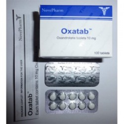 Oxatab Nove Pharm 100 kategorier [10mg/tab]