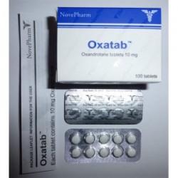Oxatab Nove Pharm 100 tabletas [10 mg / pestaña]