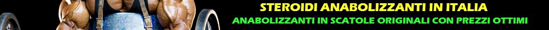 Acquistare Steroidi Anabolizzanti in Italia Farmacia